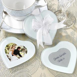 Capture My Heart Photo Coaster(2pcs/set) 2pcs/set)
