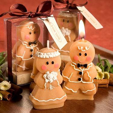 Gingerbread Sweety Couple Candle