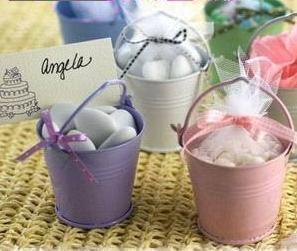 Wedding Door Gifts - 6cm Mini Sweet Candy Pail