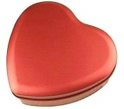 Door Gifts - Scarlet Sweet Heart Mint Box