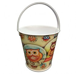 Door Gift - 10cm Mini Pail(Mixed available Designs) Image 1